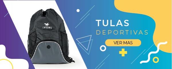 TULAS Y MOCHILAS DEPORTIVAS REGALOS CORPORATIVOS
