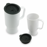Mug Grande con Tapa 16 Oz / 15 cm Alto