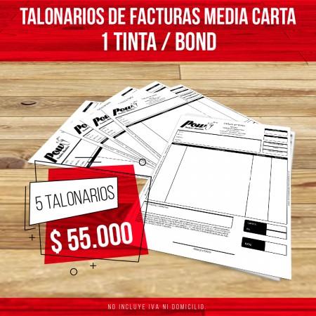 IMPRESIÓN DE TALONARIOS FACTURAS RECIBOS FORMULARIOS BOND EN CALI BARATO ECONOMICOS