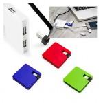 Square USB Hub con 4 Puertos